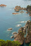 Tossa De Mącący, Costa Brava, Hiszpania Obraz Royalty Free
