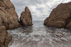 Tossa de Mar, Καταλωνία, Ισπανία Στοκ φωτογραφία με δικαίωμα ελεύθερης χρήσης