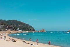 Tossa de mar, Каталония Стоковая Фотография RF