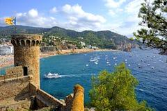 Tossa De Mar beach, Spain Royalty Free Stock Photo