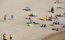 Tossa De Mar beach, Spain Royalty Free Stock Image