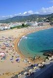 Tossa De Mar beach, Spain Stock Photo