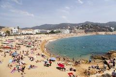 Tossa de Mar Beaches, Spain Stock Photo