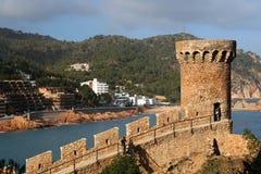 Tossa De Mar Castle Royalty Free Stock Image