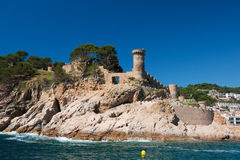 Tossa de Mar castle Royalty Free Stock Photography