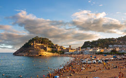Tossa de Mar castle Stock Photography