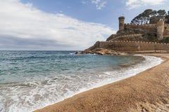 Tossa de Mar, Catalogna, Spagna fotografia stock
