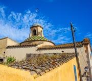 Tossa de Mar, Catalogne, Espagne, 06 19 2013, aménagent antique en parc à Image stock