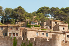 Tossa de Mar Catalonia Royalty Free Stock Photography