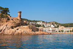 Tossa de Mar. Catalonia, Spain Royalty Free Stock Image