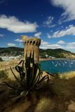 Tossa de Mar city, Costa Brava, Spain Stock Images