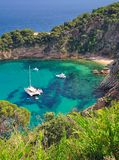 Tossa-de-Mar,coastal Landscape,Costa Brava,Spain Stock Photos