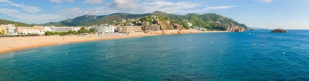 Tossa de Mar coastline Royalty Free Stock Photos