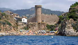Tossa de Mar, Costa Brava Royalty Free Stock Photography