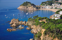 Tossa de Mar,Costa Brava Stock Photo