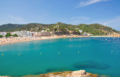 Tossa de mar on the costa brava Stock Images