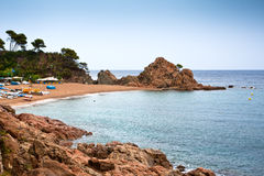 Tossa de Mar. Costa Brava Royalty Free Stock Images