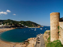 Tossa DE Mar - Costa Brava Royalty-vrije Stock Foto's