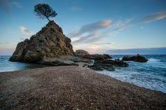 Tossa DE Mar, Costa Brava Royalty-vrije Stock Afbeeldingen