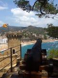 Tossa de Mar, Costa Brava, Catalonia Imagem de Stock