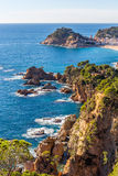 Tossa de Mar in Costa Brava, Catalonia Stock Images