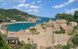 Tossa de Mar,Costa Brava,Catalonia,Spain Stock Photography