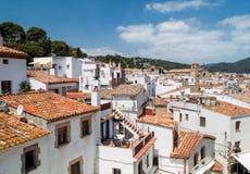 Tossa de Mar, Costa Brava, Catalunya, España Foto de archivo