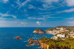 Tossa de Mar on the Costa Brava, Catalunya, Spain Royalty Free Stock Images