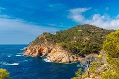 Tossa de Mar on the Costa Brava, Catalunya, Spain Stock Photography