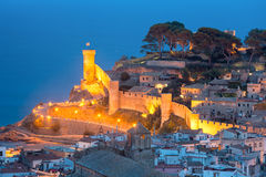 Tossa de Mar on the Costa Brava, Catalunya, Spain Stock Image