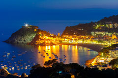 Tossa de Mar on the Costa Brava, Catalunya, Spain Royalty Free Stock Image