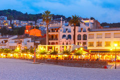 Tossa de Mar on the Costa Brava, Catalunya, Spain Royalty Free Stock Image