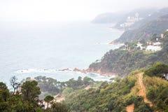 Tossa de Mar , Costa Brava coast Stock Photo