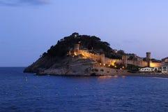 Tossa De Mar, Costa Brava, Girona, Hiszpania Zdjęcia Royalty Free
