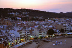Tossa de Mar in Costa Brava, Katalonien, Spanien Lizenzfreies Stockfoto