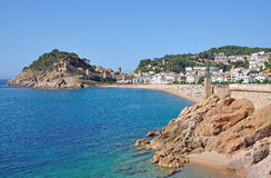 Tossa-de-Mar,Costa Brava,Spain Royalty Free Stock Images