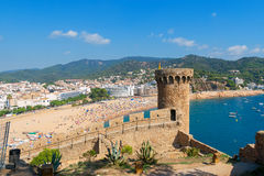 Tossa de Mar. Costa Brava, Spain Royalty Free Stock Photo