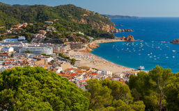Tossa de Mar, Costa Brava, Spain. Royalty Free Stock Photography
