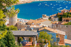 Tossa de Mar, Costa Brava, Spain. Royalty Free Stock Photos