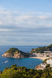 Tossa de Mar on Costa Brava in Spain Royalty Free Stock Image