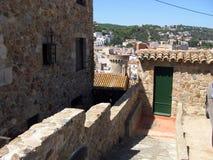 Tossa de Mar. Costa Brava, Spain Royalty Free Stock Photos