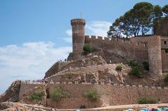 Tossa DE Mar, Costa Brava, Spanje Royalty-vrije Stock Foto