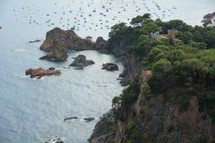 Tossa DE Mar, Costa Brava, Spanje Royalty-vrije Stock Foto's