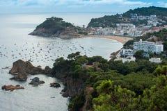 Tossa DE Mar, Costa Brava, Spanje Stock Afbeelding