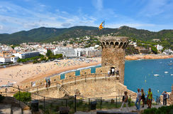 Tossa de Mar Royalty Free Stock Photography