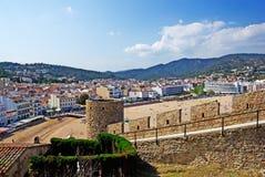 Tossa de Mar fortress. Stock Photo