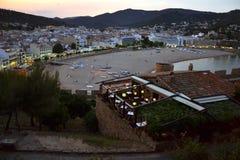Tossa de Mar in Costa Brava, Catalonia, Spain Stock Photo