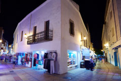Tossa de Mar night village Costa Brava Catalonia Royalty Free Stock Photo