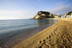 Tossa de mar, Platja Gran, Vila Vella Stock Image
