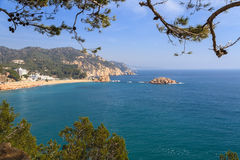 Tossa de Mar, Spain Royalty Free Stock Photos